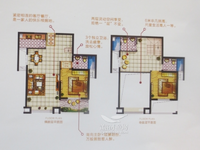 天澜城二期楼中楼,赠送30平面积,居住舒适