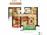 天澜城旁保利城一期底层小三房,84.5万低价急售