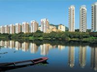 万辉国际城溪景楼中楼 证满2年赠送面积多实用310平