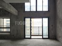 正荣府中高层,125平复式楼,三面光,附送面积多,万科富力