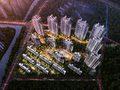 保利城·和悦府鸟瞰效果图