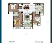 D5户型-建筑面积约123㎡