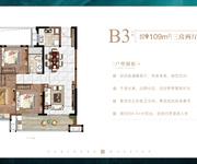 B3户型-建筑面积约109㎡